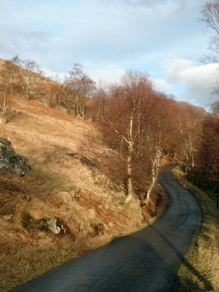 Winter Afternoon near Loch Doine