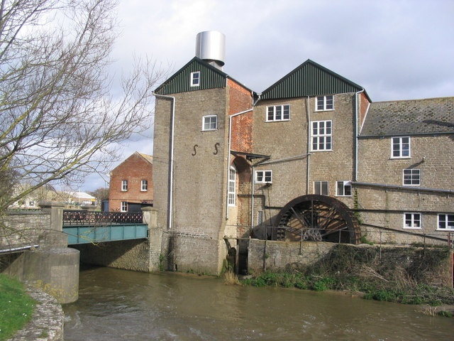 Palmer's Brewery, Bridport (with waterwheel)