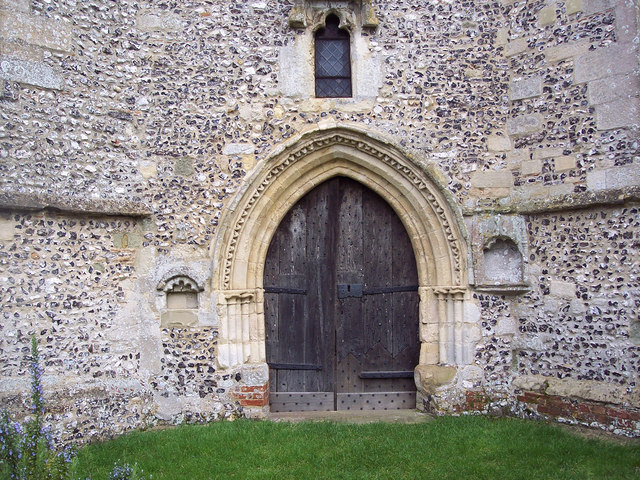 St Mary's Church, Broughton - Doorway