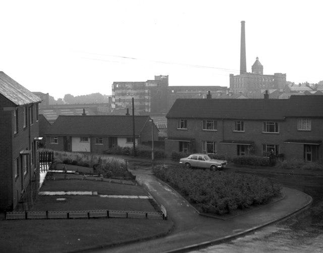 John Bright's Fieldhouse Mills, Rochdale, Lancashire