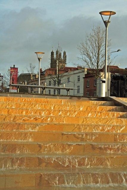 Water feature, Bristol