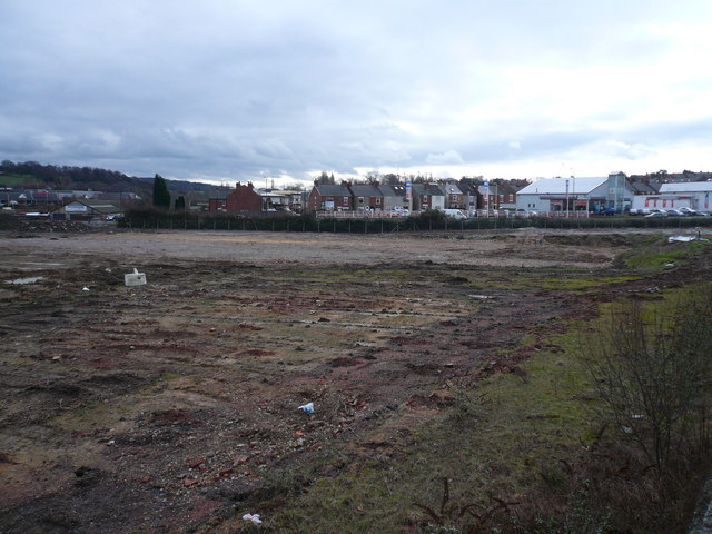 Lockoford Lane - View across cleared Dema Glass Site