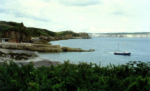 Landing jetty at Caldey Island