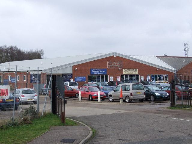 Taverham Nursery and Craft Centre Entrance