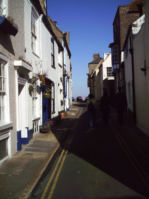Sheltered Street, off Beach Street, Deal