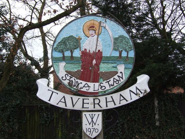 Taverham Village Sign