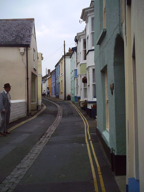 Street Scene, Appledore, Devon