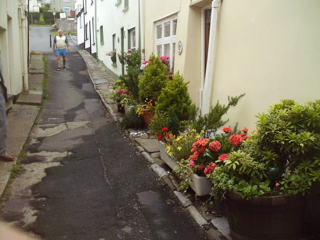 A Steep Street in Appledore