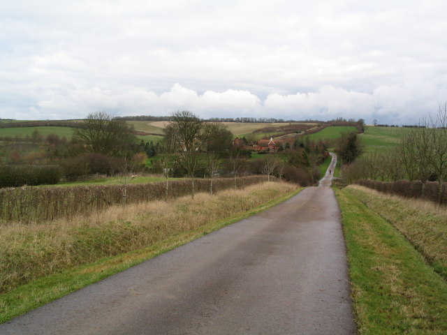 Macmillan Way north across the Chater valley