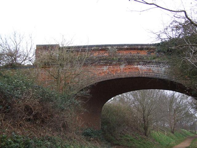Bridge over Disused Railway Line, Taverham