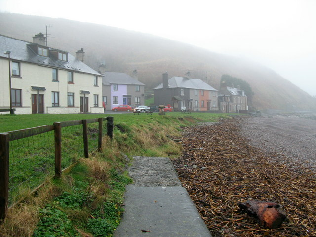 Misty Afternoon at Cowdrait, Burnmouth