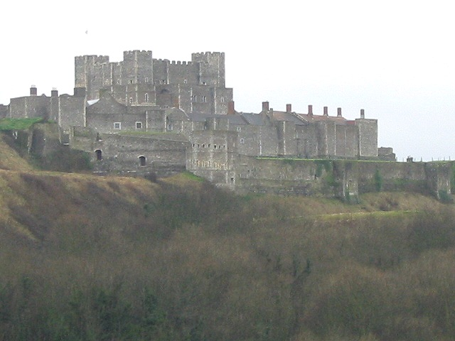 Dover Castle viewed from the east
