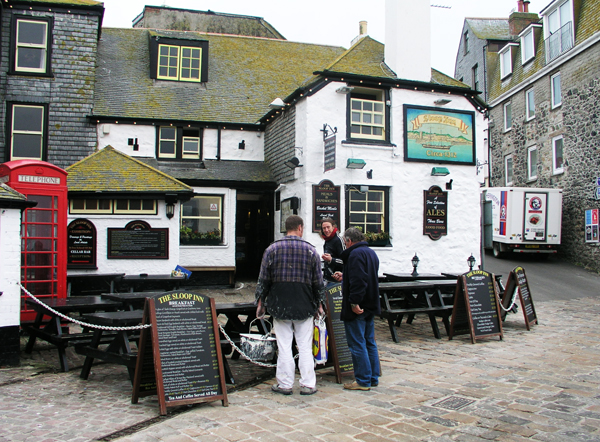 Painters in St Ives, Cornwall