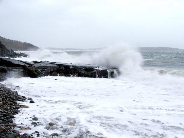 Rough Sea at Torrisdale.