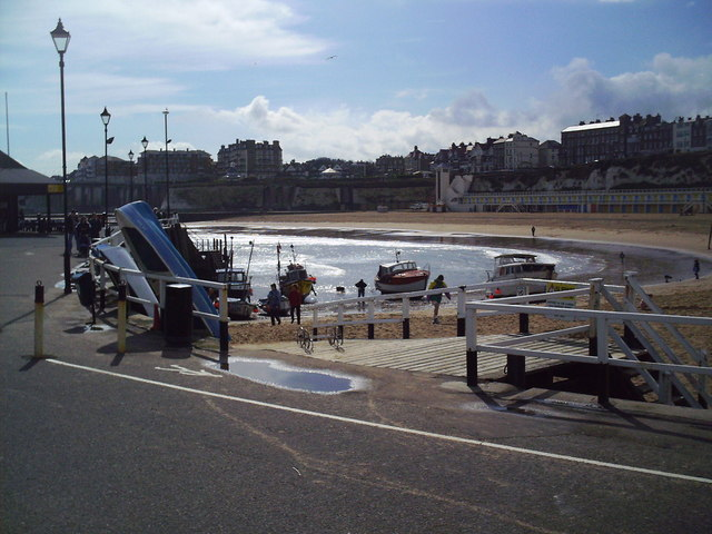 Broadstairs Bay from the Pier