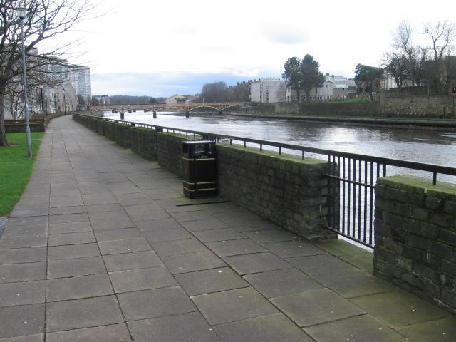 River Ayr Way at Ayr