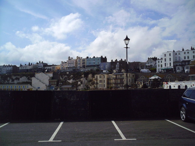 Broadstairs Town from the Pier