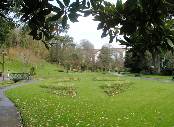 Trenance Gardens, Newquay, Cornwall