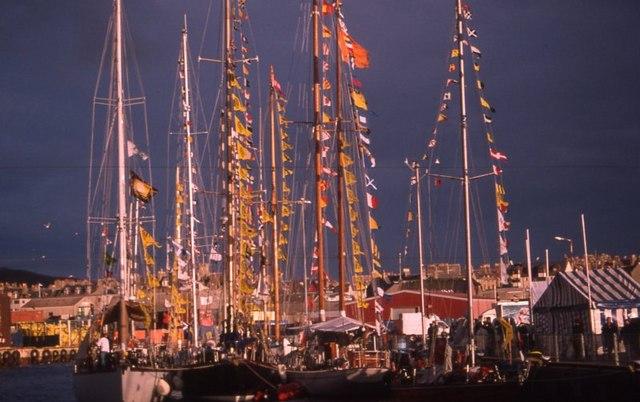 Tall Ships in Lerwick