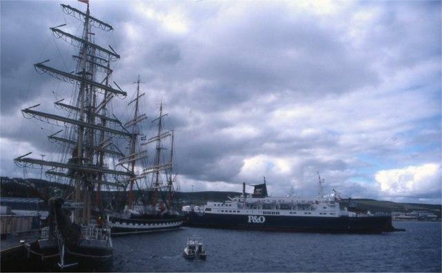 Holmsgarth Tall Ships