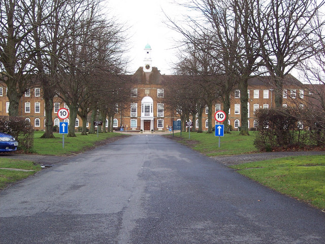 Entrance to St Swithun's School, Winchester