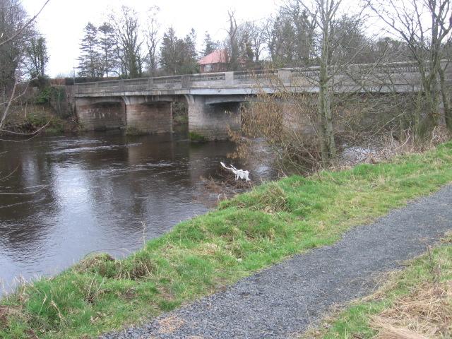 River Ayr Way at Tarholm Bridge