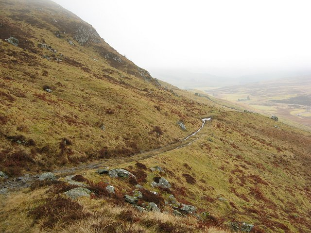 Hill path, Stronhavie