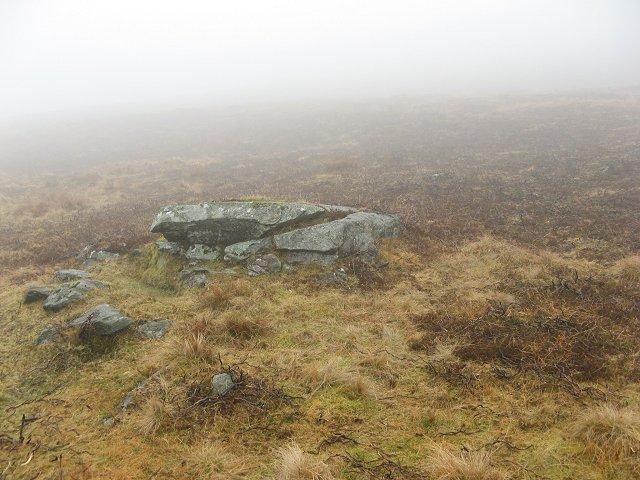 Outcrop by the Balgholan Burn