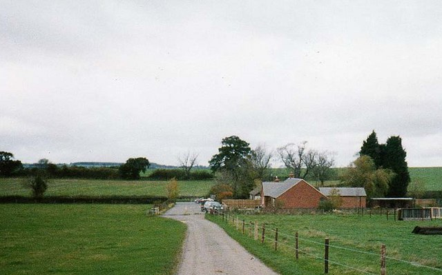 Farmworkers' bungalows at junction of Faxton Lane with road from Langport