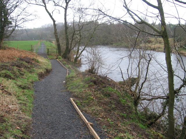 River Ayr Way at Annbank