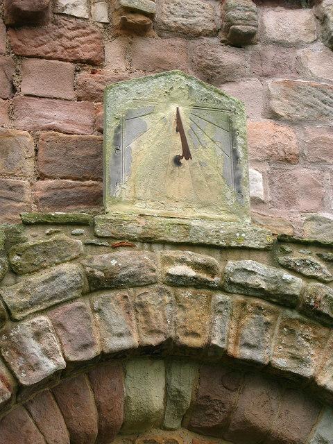 Sundial, St Anne's Church, Ancroft