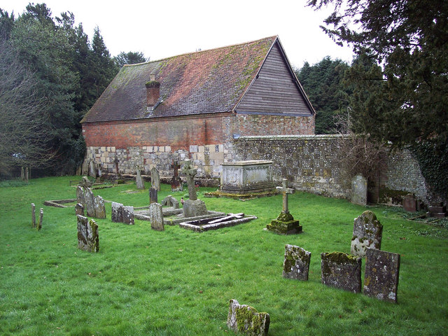 St Michael and All Angels Church, Cheriton - Churchyard