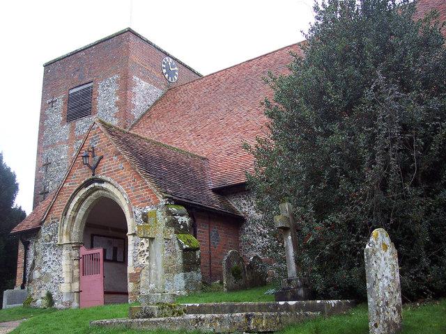 St Michael and All Angels Church, Cheriton - Porch