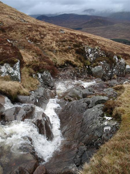 Waterfall on Allt a'Mhill Ghairbh