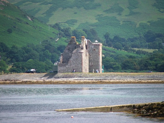 Lochranza Castle.