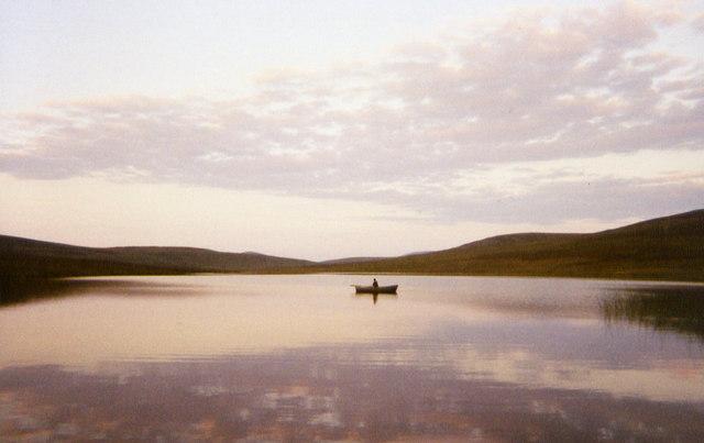 Evening on Loch Ascaig