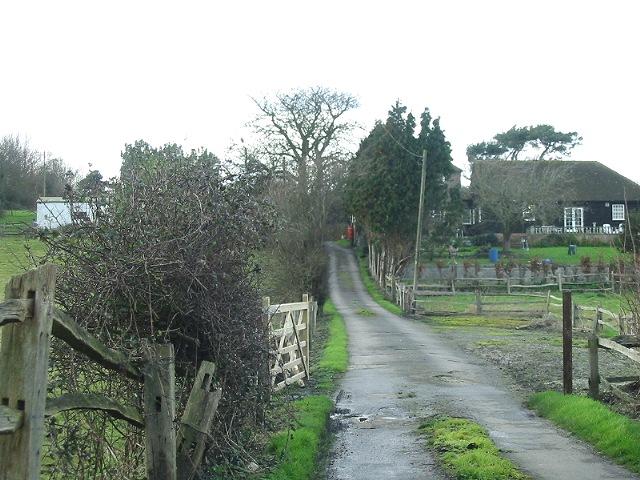 Road leading to Parsonage Farm, Sutton
