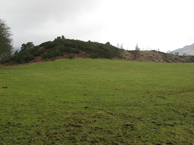 Wooded hill near Croft House