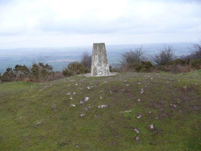 Merbach Hill trig