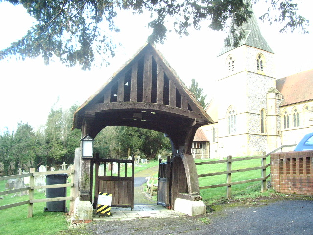 Lychgate, St Mary the Virgin, Laverstock