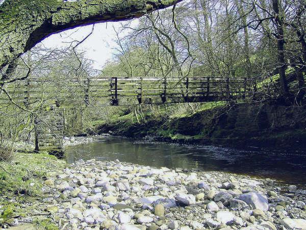 St Simon's footbridge