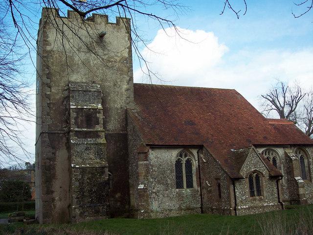 The parish church of the Blessed Virgin Mary, Singleton