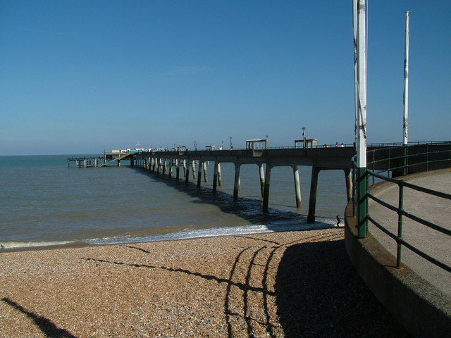 Deal Pier from the North Shore