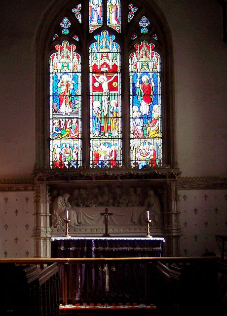 Church of the Blessed Virgin Mary, Singleton - Window