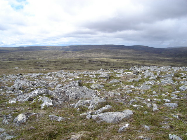 Looking northwest from Carn Coire Na Creiche
