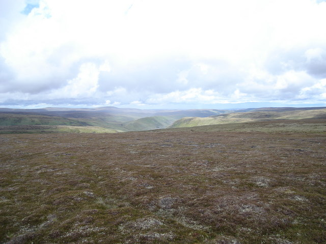 Looking northeast from Ileach Bhan