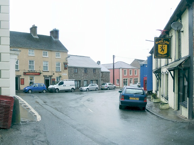 Centre of Llangadog