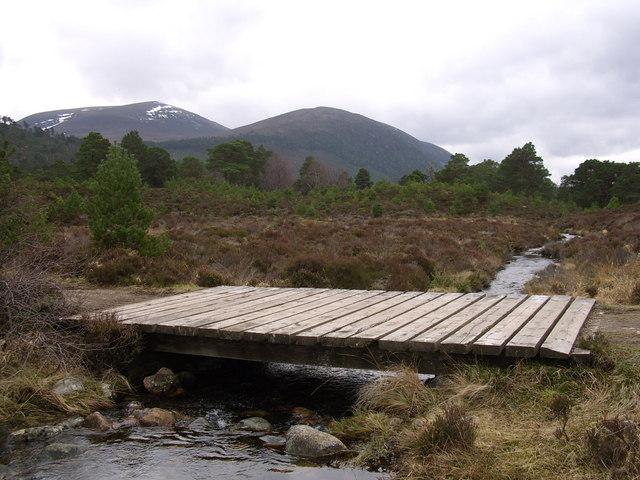 Bridge over Allt Coire Follais