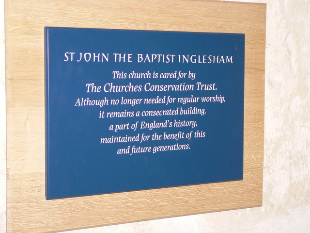 St Johns Church Inglesham, visitor information