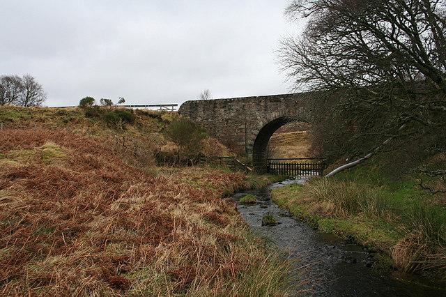 Bridge of Aultahuish over Cold Burn.